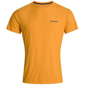 Berghaus 24/7 Tech SS Crew T-shirt Heren, sunflower